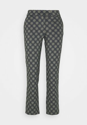 CROPPED PANTS - Trousers - royal blue