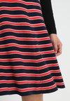 King Louie - PANEL SKIRT MARITIME - A-line skirt - storm blue