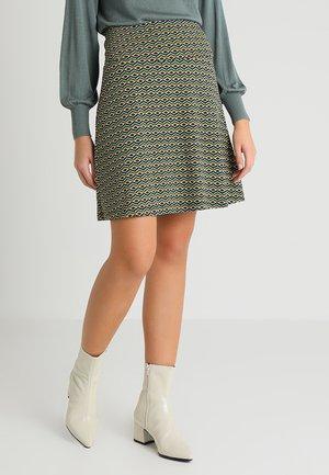 BORDER SKIRT VONGOLE - A-snit nederdel/ A-formede nederdele - royal blue