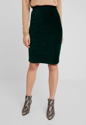 TUBE SKIRT - Kokerrok - pine green