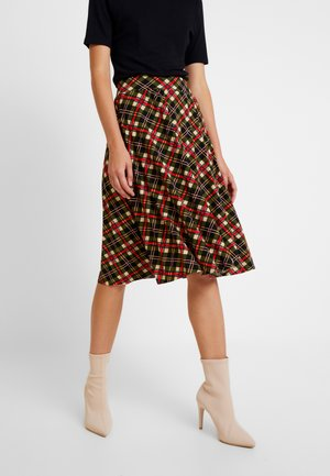BORDER PLISSE SKIRT PLISOLEY - A-linjainen hame - marzipan