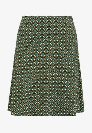 BORDER SKIRT CALYPSO - A-snit nederdel/ A-formede nederdele - lapis blue