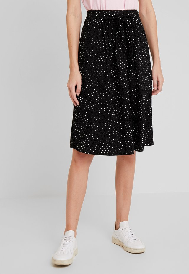GAIL SKIRT LITTLE - A-line skirt - black