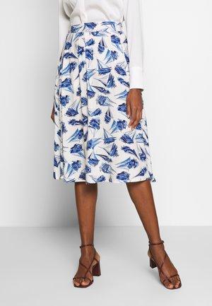 CIRCLE SKIRT LOVEBOAT - A-line skirt - cream