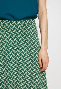 King Louie - JUNO SKIRT TILIA - Áčková sukně - fir green - 4
