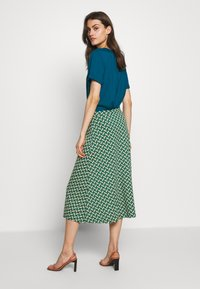 King Louie - JUNO SKIRT TILIA - Áčková sukně - fir green - 2
