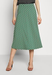 King Louie - JUNO SKIRT TILIA - Áčková sukně - fir green - 0