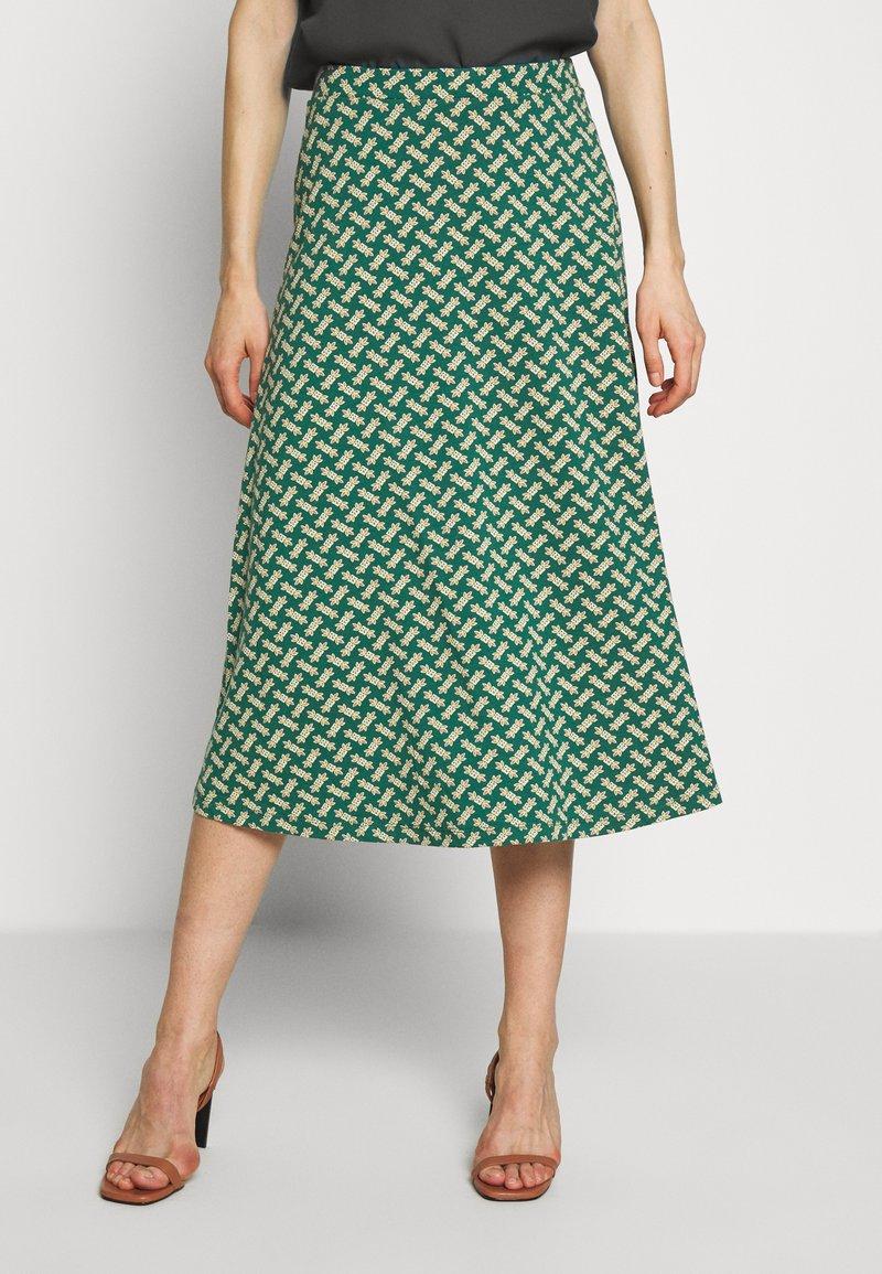 King Louie - JUNO SKIRT TILIA - Áčková sukně - fir green
