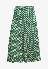King Louie - JUNO SKIRT TILIA - Áčková sukně - fir green - 3