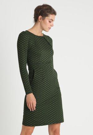 MONA DRESS LOOPY - Jersey dress - grass green
