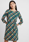 King Louie - ZOE DRESS OXFORD - Freizeitkleid - dragonfly green