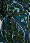 King Louie - ZOE DRESS TEARDROP - Pletené šaty - olive green