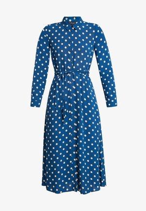 ROSIE MIDI DRESS POLKADOT - Maxi šaty - autumn blue