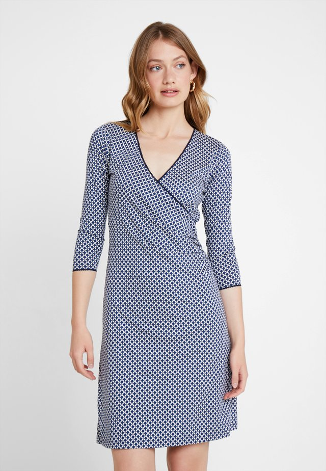 CROSS DRESS VENUS EXCLUSIV - Jersey dress - jet blue