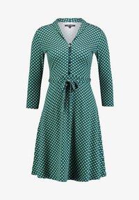 King Louie - EMMY DRESS SAFFRON EXCLUSIV - Blusenkleid - green - 3