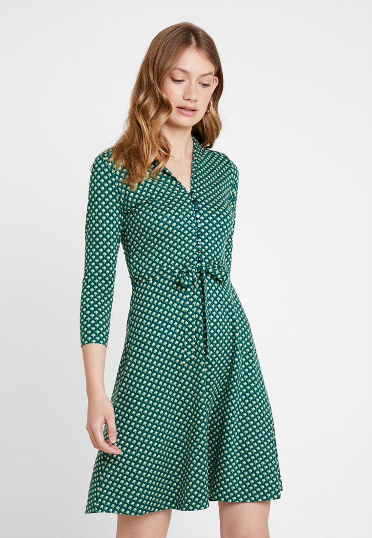 King Louie - EMMY DRESS SAFFRON EXCLUSIV - Blusenkleid - green