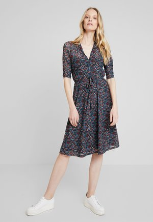 EMMY DRESS MIDI DALLAS - Jersey dress - black