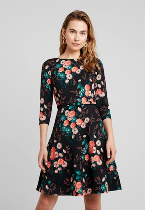 BETTY DRESS FIELDFLOWER - Jersey dress - black