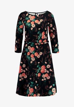 BETTY DRESS FIELDFLOWER - Jerseykleid - black