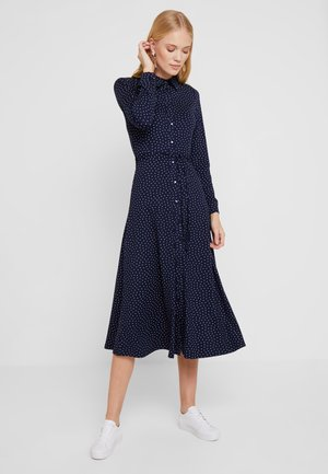 MIDI DRESS LITTLE DOTS - Žerzejové šaty - nuit blue