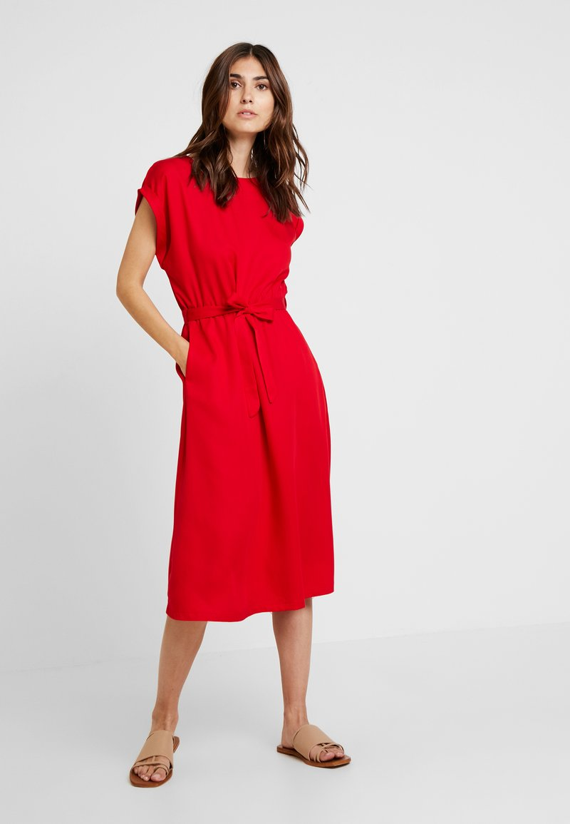King Louie - BETTY DRESS LOOSE FIT - Day dress - red