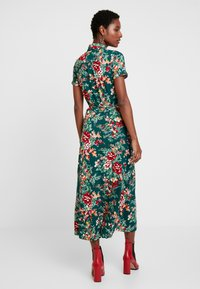 King Louie - DRESS MIDI MAKURA - Maxi-jurk - dragon fly green - 2