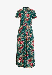 King Louie - DRESS MIDI MAKURA - Maxi-jurk - dragon fly green - 4