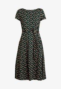King Louie - SALLY DRESS SWIRL - Žerzejové šaty - para green - 4