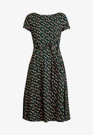 SALLY DRESS SWIRL - Jersey dress - para green