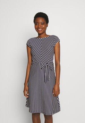 GRACE DRESS BRETON STRIPE - Denní šaty - blue