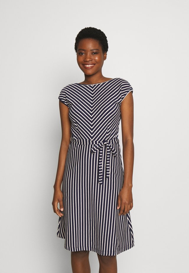 GRACE DRESS BRETON STRIPE - Vardagsklänning - blue