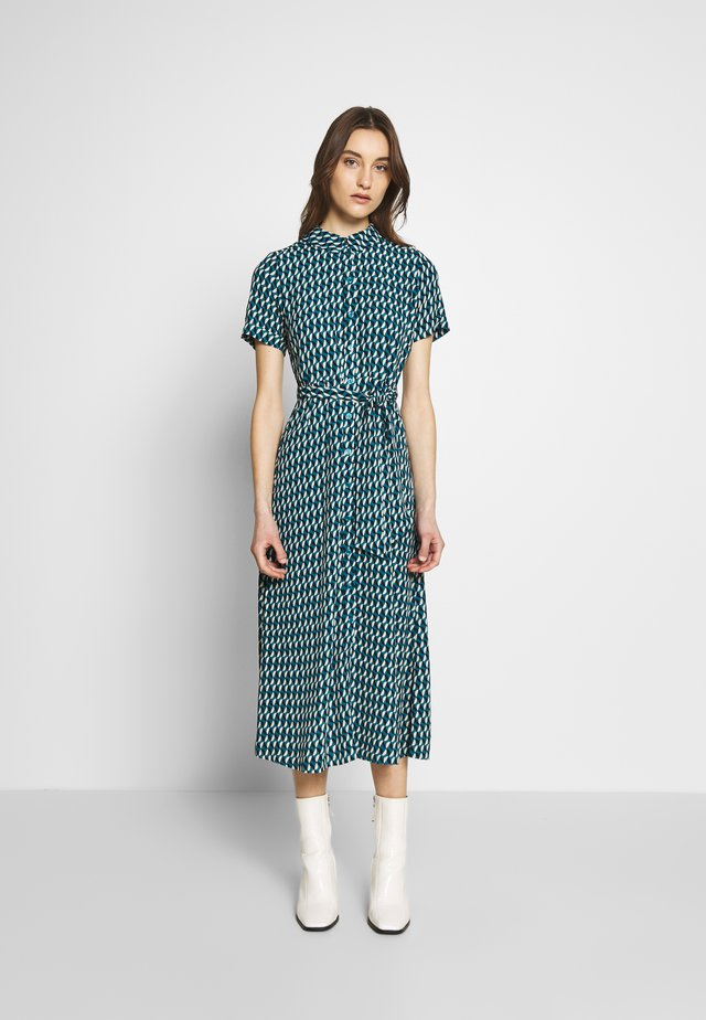 ROSIE MIDI DRESS PAPILLON - Day dress - petrol