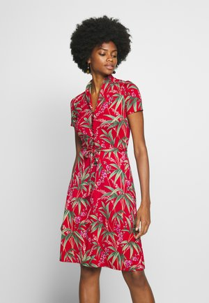 EMMY DRESS TAHITI - Jersey dress - chili red