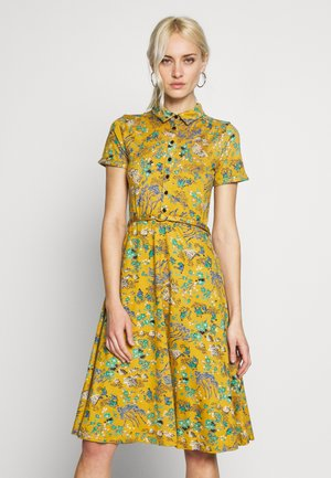 DRESS BONSAI - Jersey dress - spice yellow