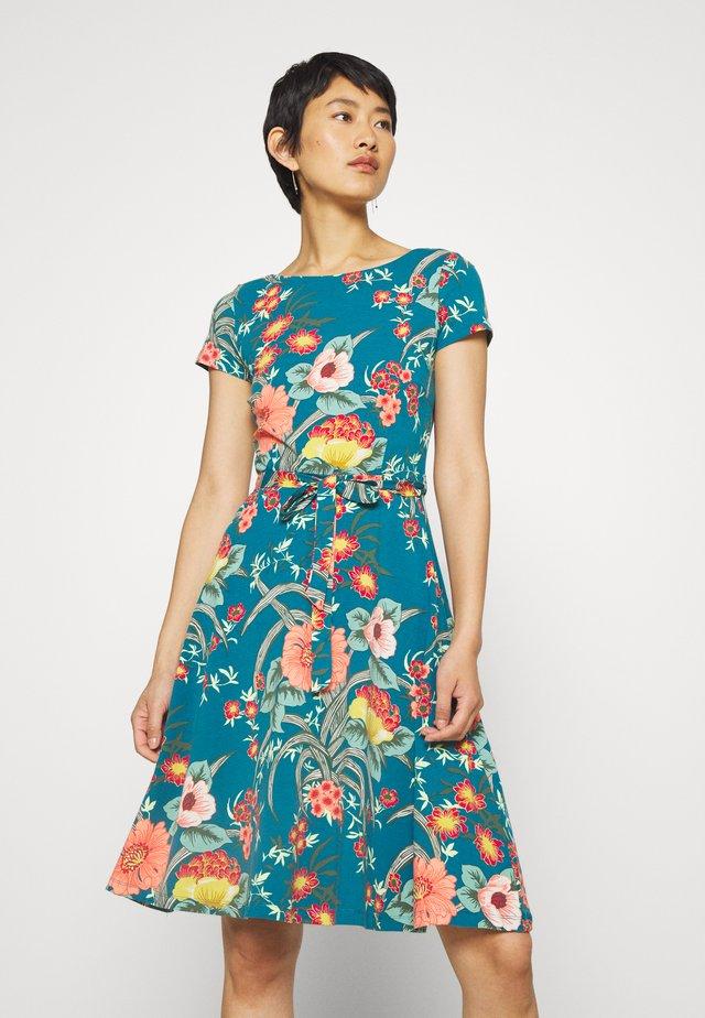 SALLY DRESS COPACABANA - Jersey dress - bay blue