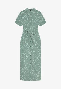 King Louie - ROSIE MIDI DRESS DOMINO DOT - Košilové šaty - spar green - 2