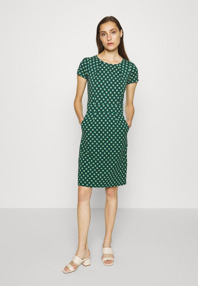MONA DRESS POSE - Kjole - dragonfly green