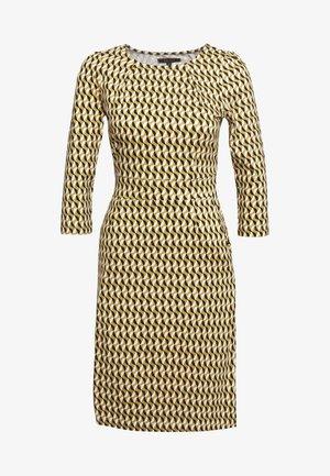 MONA DRESS - Sukienka z dżerseju - gold/yellow