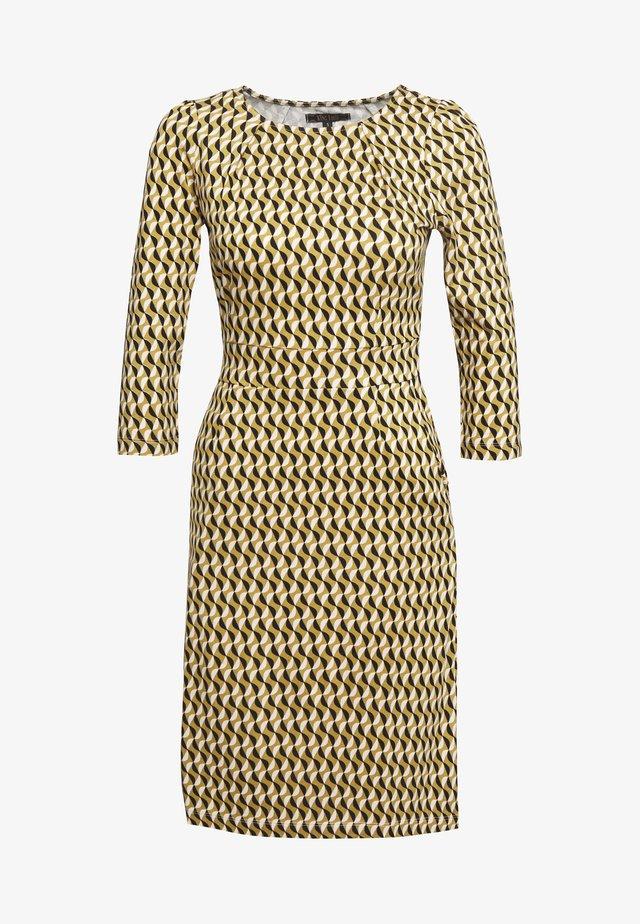 MONA DRESS - Jersey dress - gold/yellow