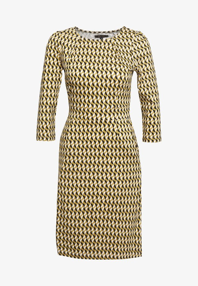 MONA DRESS - Trikoomekko - gold/yellow