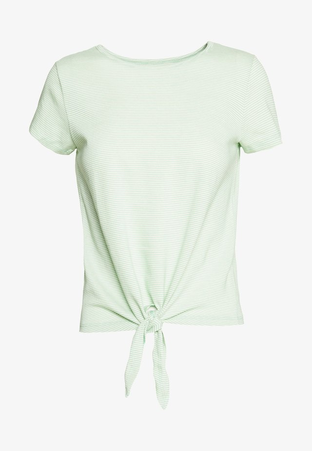 KNOT IMPERIAL - T-shirts print - neptune green