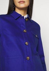 King Louie - ELLEN JACKET STURDY - Lett jakke - dazzling blue - 4