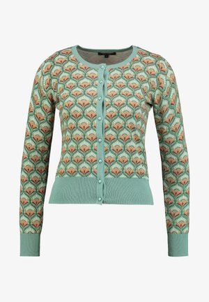 ROUNDNECK ADONIS - Strickjacke - spar green