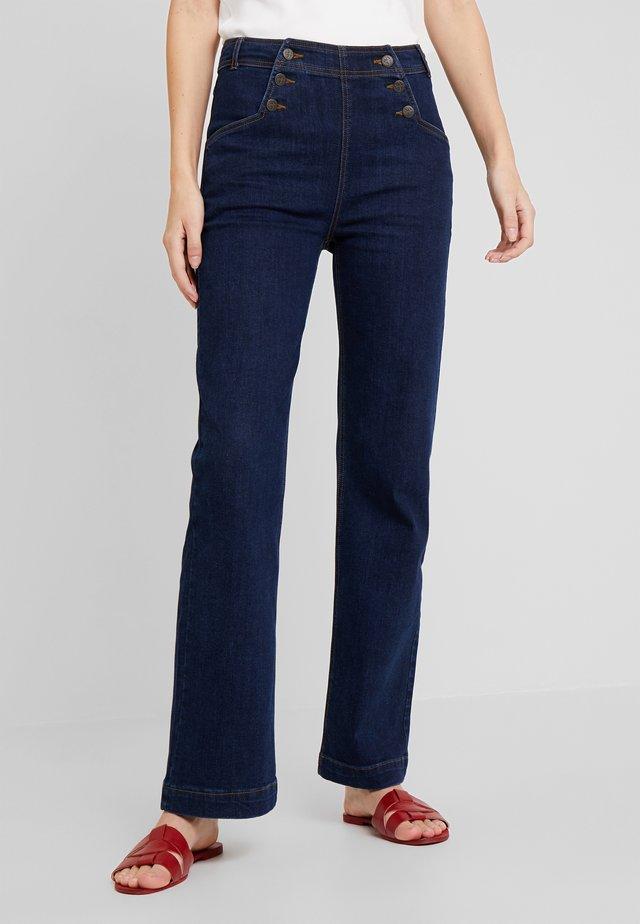 SAILOR PANTS  - Jeans Straight Leg - blue