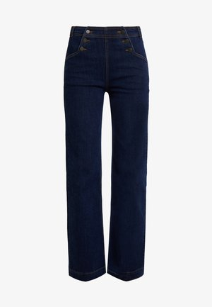 SAILOR PANTS  - Jeans straight leg - blue