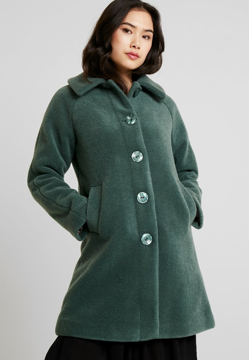 King Louie - BETTY COAT FAYETTE - Classic coat - jasper green