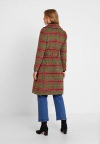 King Louie - BARCLAY COAT MISSISSSIPPI - Classic coat - olive green - 2