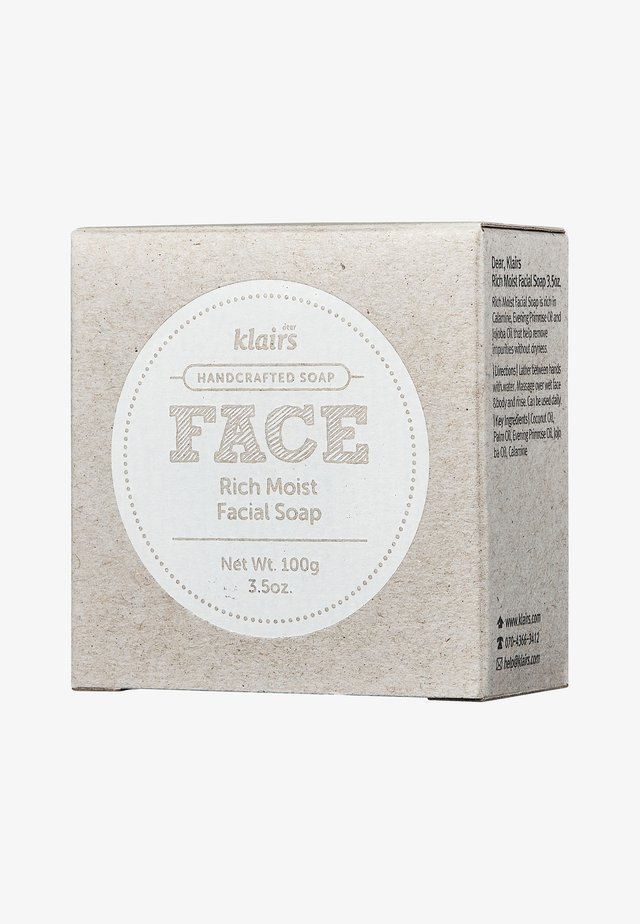 FACE RICH MOIST FACIAL SOAP - Fast tvål - -