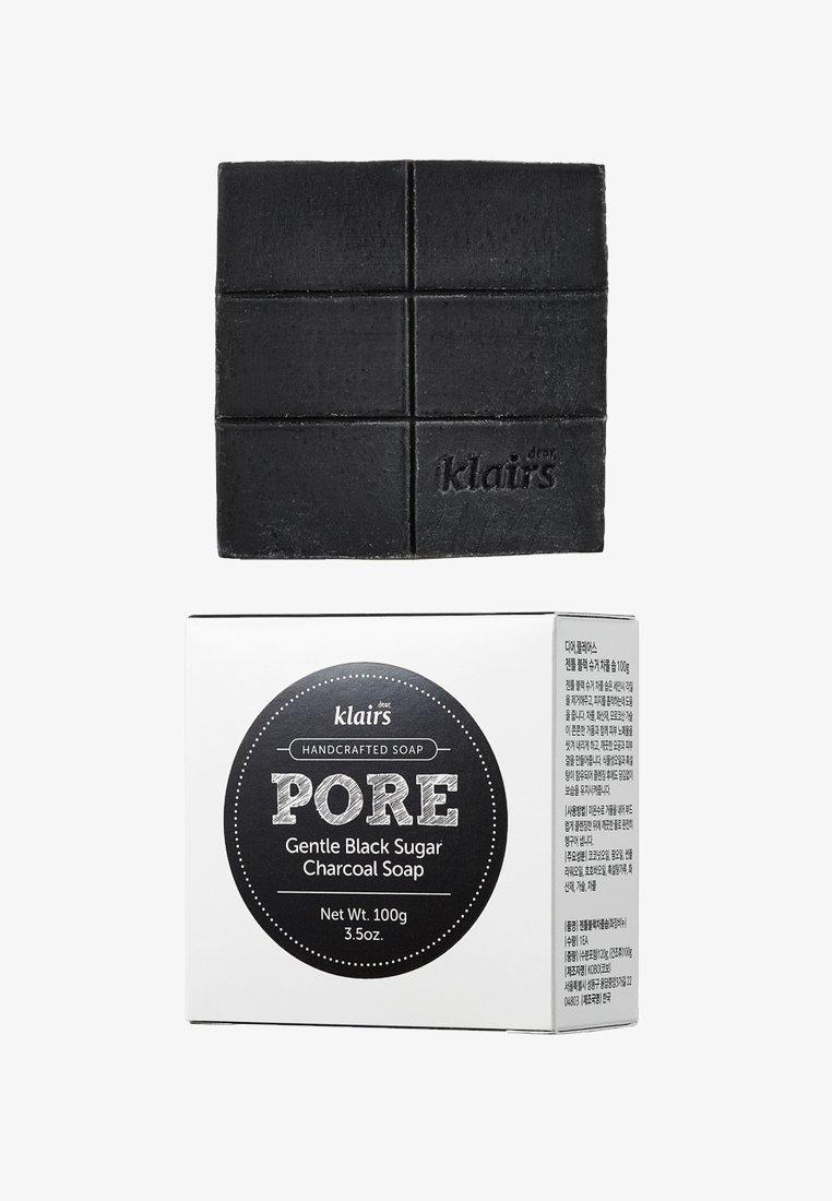 klairs - PORE GENTLE BLACK CHARCOAL SOAP 100G - Savon en barre - neutral