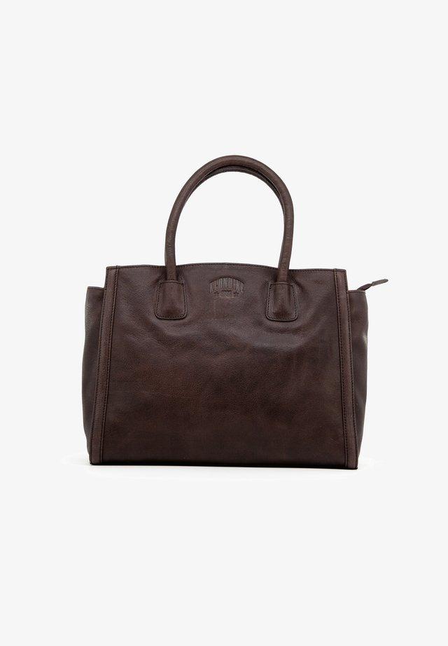 CLARA - Handbag - dunkelbraun